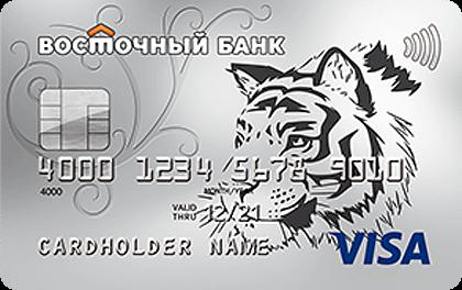 Кредитная карта Восточный Cash-back
