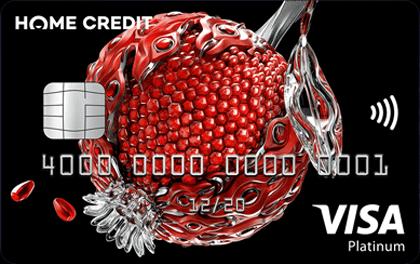 Дебетовая карта Космос Home Credit